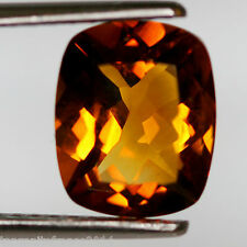 3,88 carats, CITRINE  NATURELLE, HONEY TOP COLOR  (pierres précieuses/ fines)