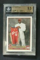 🏀 LEBRON JAMES 🏀 2003-04 TOPPS RC ROOKIE CARD BGS 9.5 🔥🔥 NBA CHAMPION 🔥🔥