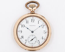 Antique 1901 Waltham 12s 7j Grade 210 Model 1894 Pocket Watch out of Estate!