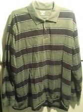 St Johns Bay Men's Green Heritage Sueded Jersey Long Sleeve Shirt 3Xlt Rn 93677