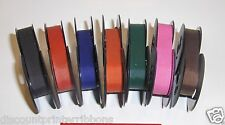 7 Colored Royal Portable Typewriter Ribbons New Colors (Free Shipping in USA)