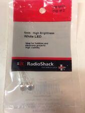 5mm • High Brightness White LED #276-0017 By RadioShack
