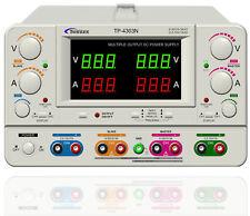 Laboratorio de laboratorio de Bench Dual Quad fuente de alimentación cuádruple variable 4 canales TP4303N