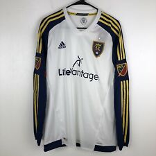 Adidas Real Salt Lake Mens Jersey Authentic Climacool Long Sleeve Large $150
