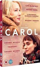 CAROL CATE BLANCHETT ROONEY MARA STUDIOCANAL UK 2016 DVD & SLIPCASE NEW SEALED