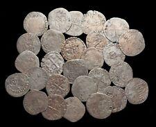 FRANCE. Henri II. Billon Douzain aux croissants, Lot of 27, Dates in 1500's