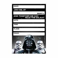 Star Wars Invitations X 8 Birthday Invites Party Supplies