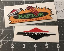 Briggs & Stratton Raptor Racing Decals Set 2