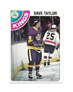 1978-79 OPC:#353 Dave Taylor,Kings RC