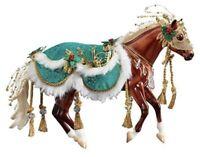 Breyer holiday Christmas Horse Minstrel 2019 Limited Edition NIB