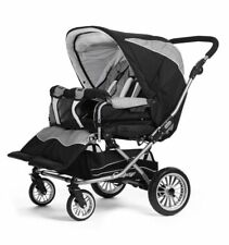 Double Seating Adjustable Back Rest Prams & Strollers