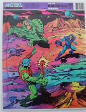 MASTERS OF THE UNIVERSE He Man & Skeletor 1984 Frame -Tray 11 x 14 puzzle 4558-1