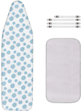 Dalykate Ironing Board Cover and Pad with Elastic Edge and Scorch and Stain Resi