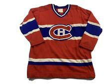 Vintage MONTREAL CANADIENS HOCKEY JERSEY