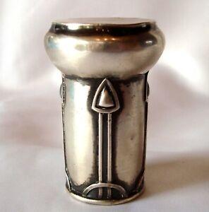 altes Jugendstil Objekt um 1910 aus 800 Silber wohl Knauf art nouveau / BV 935