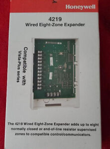 Honeywell Ademco 4219 Wired 8-Zone Expander  Brand New