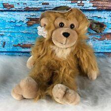 Safari Monkey Plush Stuffed Animal Russ Zoo Zoo Machine Washable Toy