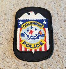 Columbus Ohio Police Shoulder Patch