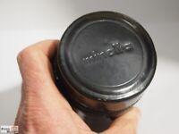 Minolta Objektiv-Köcher Tele-Objektiv 2,5/100 mm Rokkor
