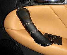 Revêtement pour Alfa Romeo 147 Gt Poignée Droite et Gauche Coutures Cuir