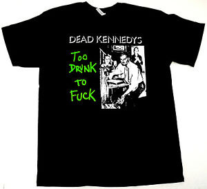 DEAD KENNEDYS T-shirt Hardcore Punk Rock Tee Adult Men's Black New