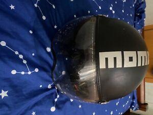 casco usato MOMODESIGN nero opaco unisex taglia s, vendo per non utilizzo