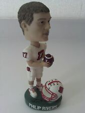 San Diego Chargers Philip Rivers North Carolina State Autograph Bobblehead NFL