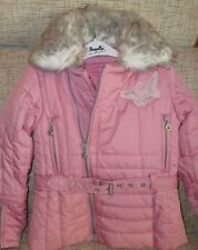 PAMPOLINA Winterjacke mit Kapuze, Mädchen, Gr.110 ,rosa, TOP-Zustand
