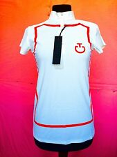 T-shirt della Cavalleria Toscana da equitazione, colore bianco stampa e coreana