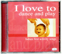 I love to dance and play. 30 Babies baby first activity songs  *NEW & WRAPPED*