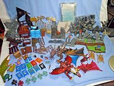 Mega Bloks Dragon Krystal Wars Battle Gate Marauders Cliff Flags Minifig Parts