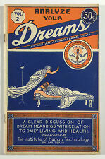 Analyze Your Dreams Vol. 2, William A. Evans, Institute of Human Technology 1945