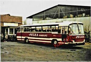 M111) Bus Foto Magirus Deutz. Hamburg Schnelsen. VHH 6602. Bth. PELKA