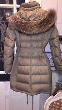 Burberry quilted beautiful fur coat size M RRP £1200