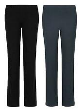LADIES EX MARKS & SPENCER FRONT STRAIGHT LEG JOGGER TROUSERS SPORT ACTIVE EX M&S