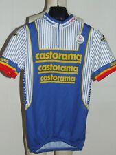 Maillot de Vélo Haut Maillot Cyclisme Sport Équipe Castorama NALINI Taille L