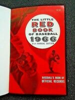 HARDBACK The Little Red Book of Major League 1966  Baseball 41ST ANNUAL EDITION