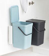 Brabantia Tipo & Go Empotrable Cubo de Basura Recolectores Residuos Selección 2x
