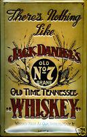 Jack Daniels Nothing Like... embossed steel sign 300mm x 200mm (hi)
