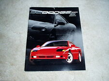 1992 Dodge Stealth Spirit R/T Daytona IROC Shadow sales brochure DELUXE catalog