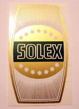 ***NOUVEAU** 1  AUTOCOLLANT  DE POTENCE FOND DORE + strié N°3 SOLEX  VELOSOLEX