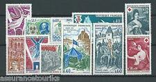 FRANCE - 1968 YT 1571 à 1581 - TIMBRES NEUFS** LUXE