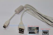 USB Cable/Cord for canon PowerShot SD100 SD1000 SD110