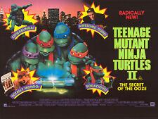 Teenage Mutant Ninja Turtles II movie poster print - 12 x 16 inches