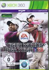 Tiger Woods PGA Tour 13 Xbox 360 Kinect golf juego nuevo