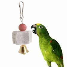 Mineral Stone Parrot Teeth Grinding Star Hanging Cage Molar Toys Birds Hamster
