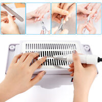 4500RPM Nail Dust Collector Desktop Built-in Machine Suction Vacuum Fan Cleaner