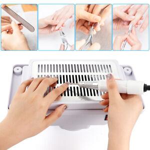4500RPM Nail Dust Collector Desktop Builtin Machine Suction Vacuum Fan Nail Tool