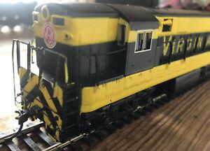HO scale BACHMANN Spectrum Diesel Fairbanks Morse H16 Virginian
