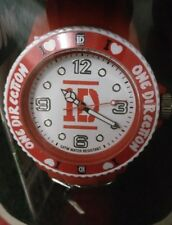 One Direction Medium Red Watch in presentation case [ONED02M] (Genuine!)